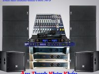 Cấu hình dàn âm thanh đám cưới Array bền bỉ âm thanh chất lượng cao