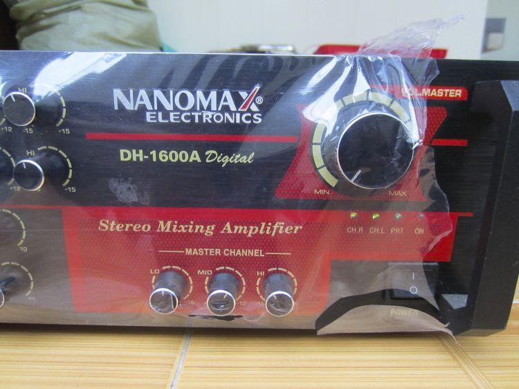 Ampli karaoke Nanomax DH-1600A