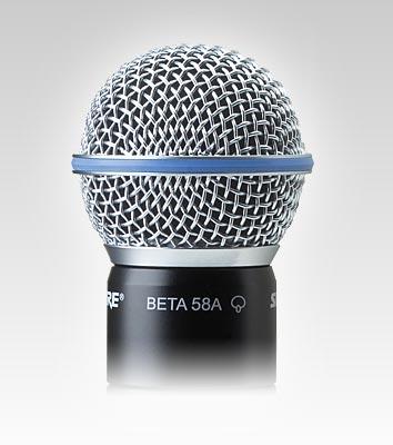 Micro có dây Shure Beta 58A