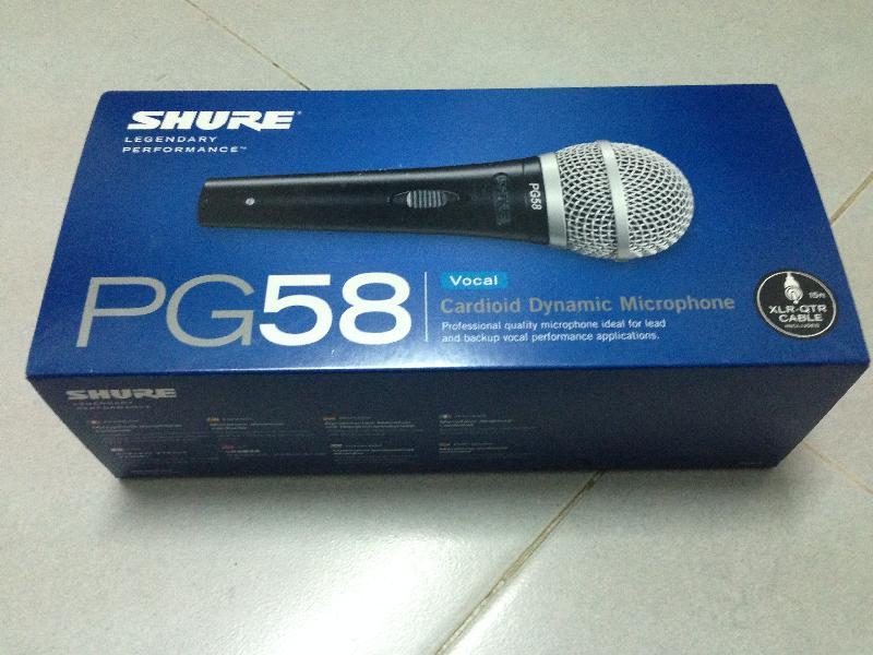 Micro-Shure-PG 58