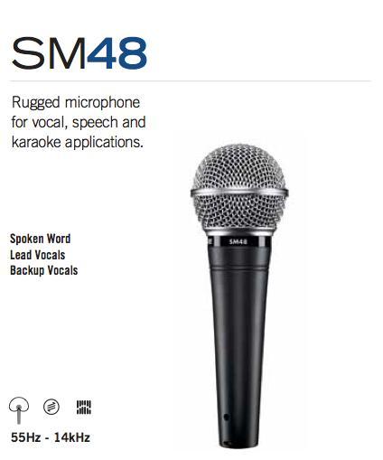 Micro Shure SM48
