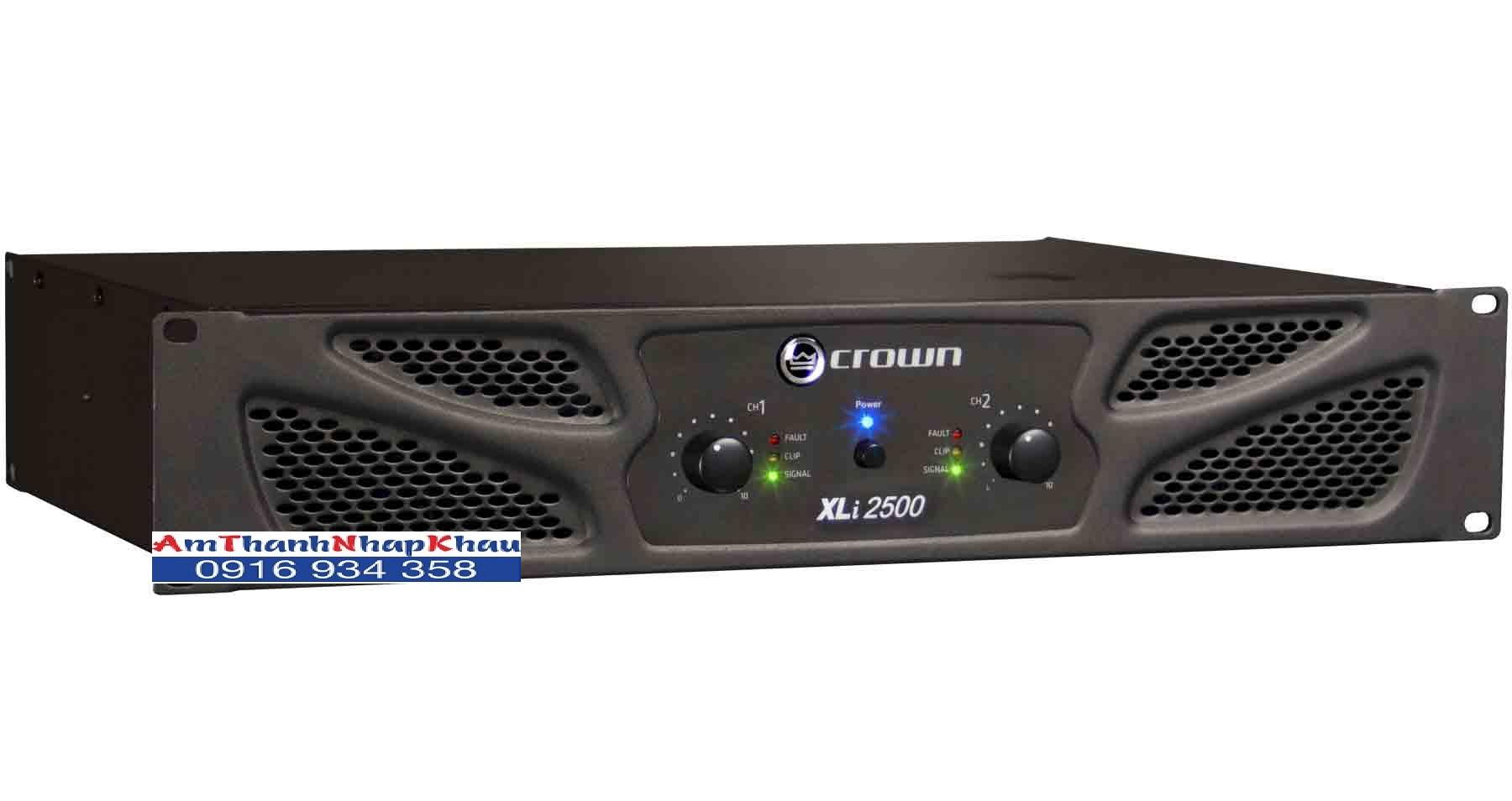 Cục đẩy công suất CROWN XLI 2500