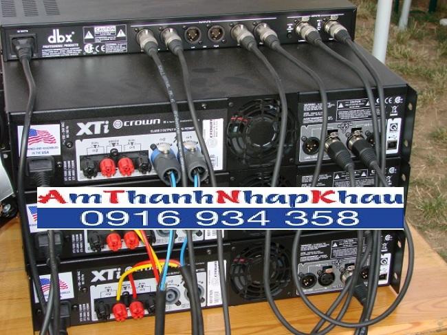 Cục đẩy công suất CROWN XTI 4000
