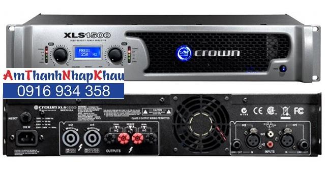 Cục đẩy công suất CROWN XLS 1500