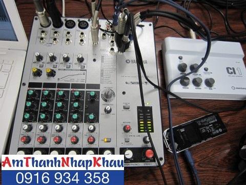 Bàn trộn âm Mixer Yamaha MW 8CX