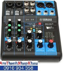 Bàn trộn âm Mixer Yamaha MG 06X