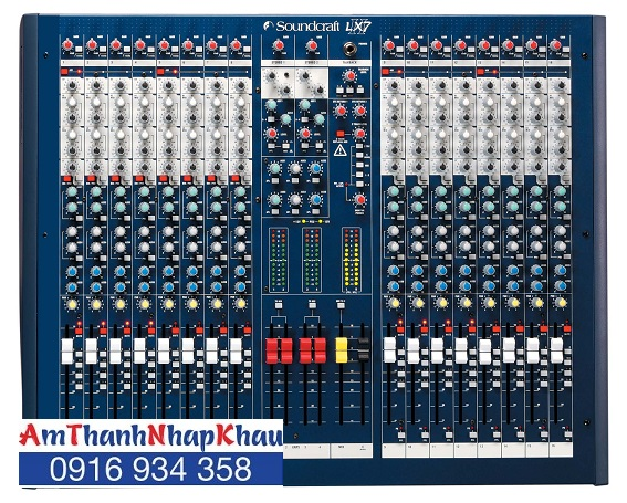 bàn trộn Mixer SoundCraft LX7II/32