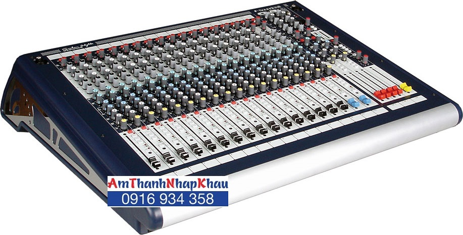 Bàn trộn Mixer Soundcraft GB2/16