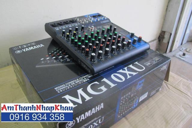 bàn trộn Mixer Yamaha MG 10XU