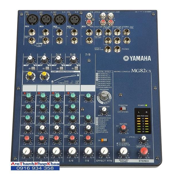 Yamaha  Cx Mixer Manual