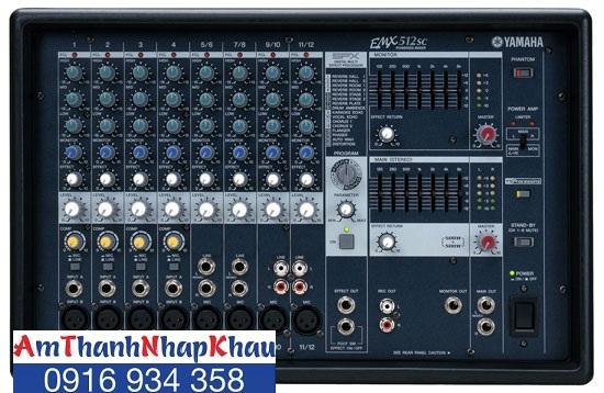 Mixer Yamaha EMX 512 SC