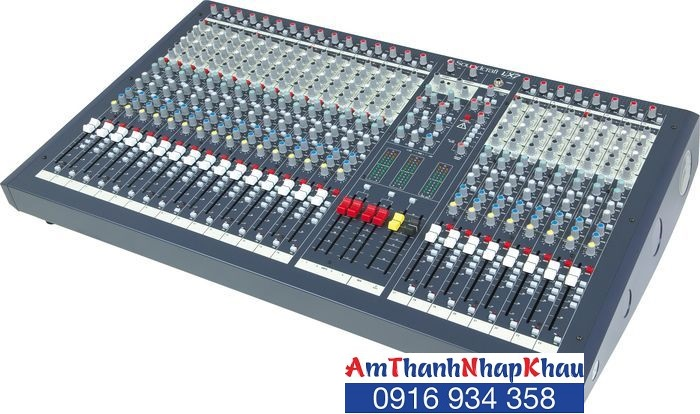 Bàn trộn Mixer Soundcraft GB4/40