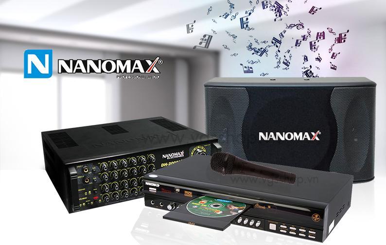 dàn karaoke nanomax