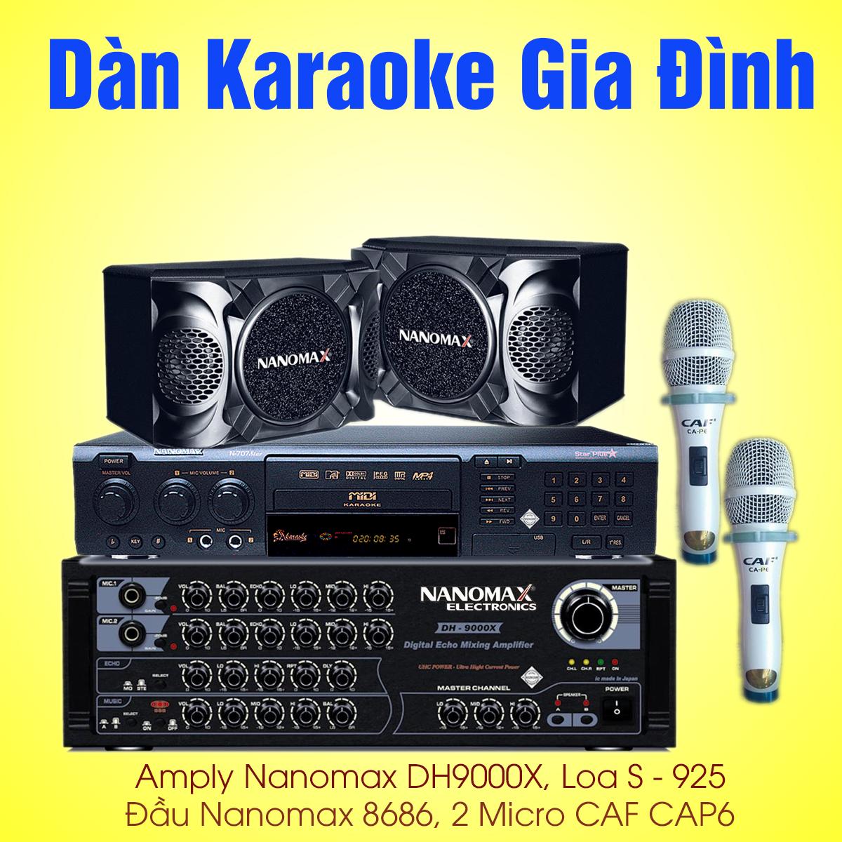 cấu hình dàn karaoke gia đình giá rẻ