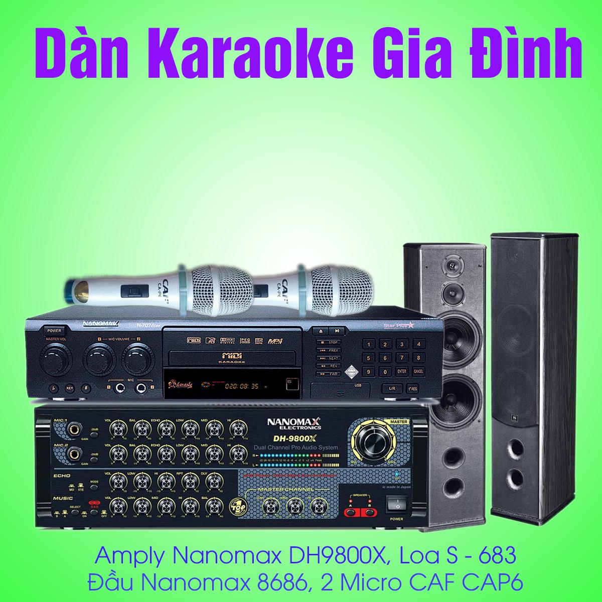 dàn karaoke nanaomax