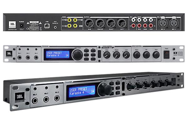 Mixer karaoke JBL KX 100 cho dàn karaoke cao cấp