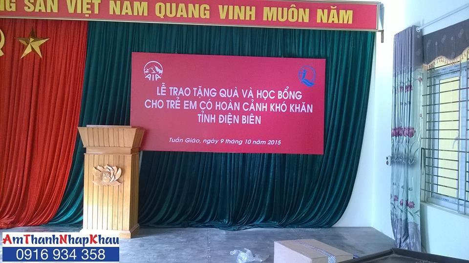 Dự án phòng giáo dục Tuần Giáo, Điện Biên