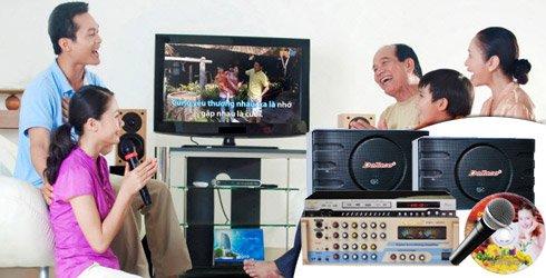 Dàn karaoke 5 số bao gồm những thiết bị nào
