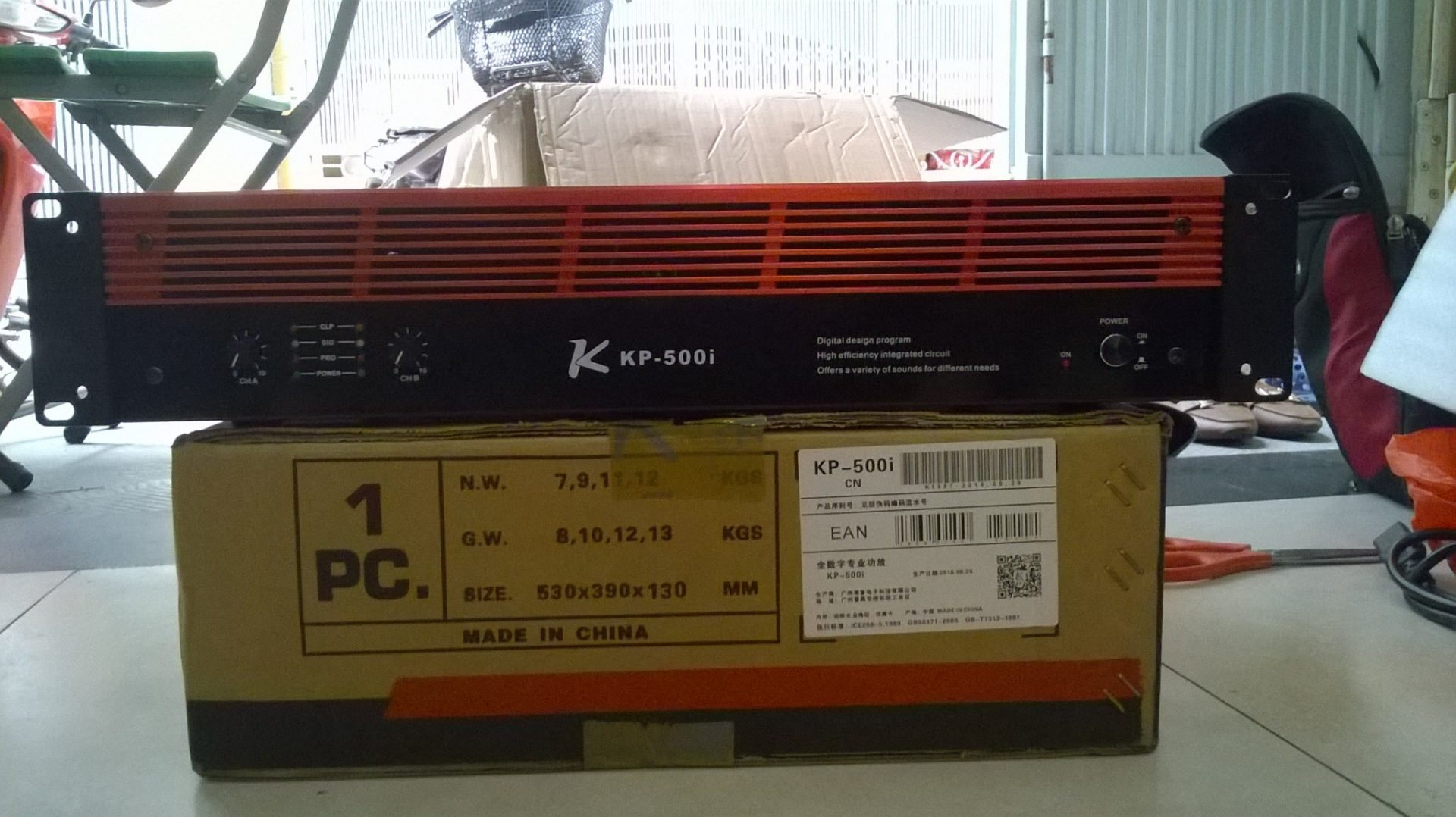 Cục đẩy công suất KP 500i