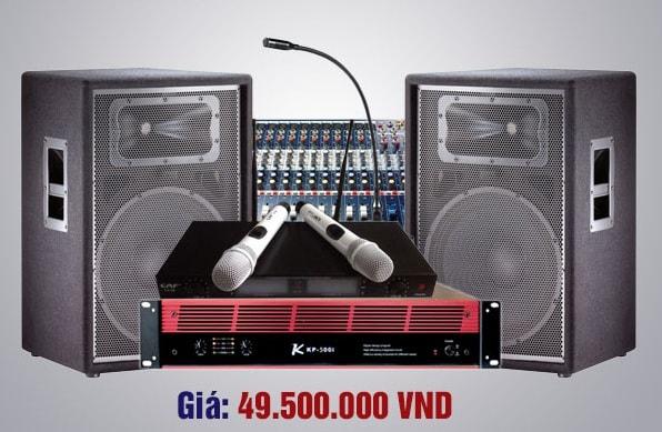 Bộ dàn âm thanh cho hội trường giá 49 triệu chính hãng