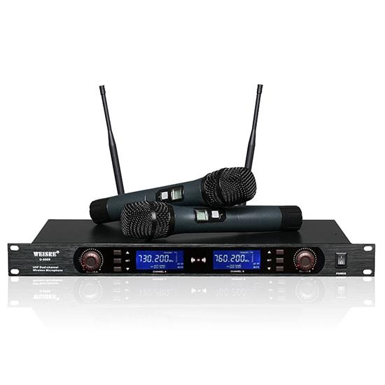 Micro không dây nhập khẩu weisre u8009