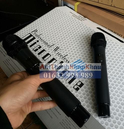 Micro không dây weisre U8030 chất lượng cao không sợ nhiễu sóng 2