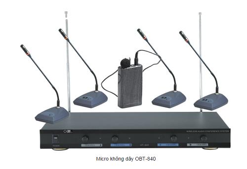 micro cổ ngỗng không dây OBT 840