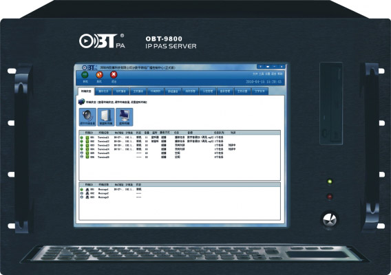 Bội điều khiển trung tâm IP OBT 9800