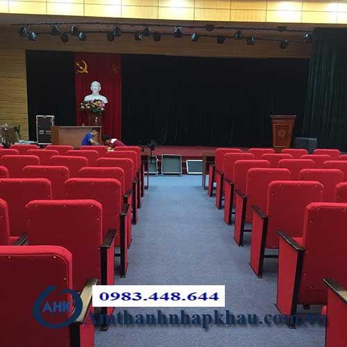 Dự án dàn âm thanh hội trường sân khấu cho Bệnh Viện Than Khoáng Sản