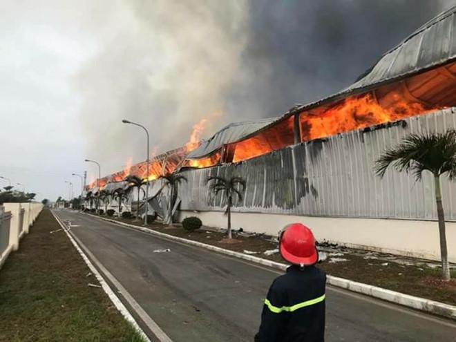 Cháy nổ tai nhà xưởng, nhà máy