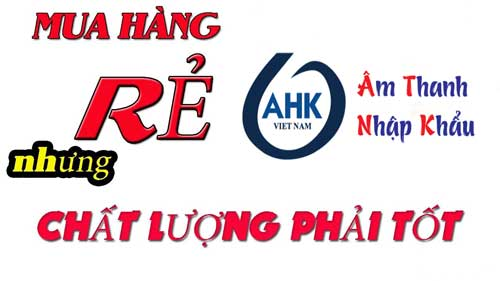 AHK Audio phân phối Micro hội nghị chính hãng chất lượng, uy tín hàng đầu Việt Nam