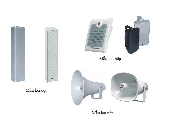 Hệ thống âm thanh nhà xưởng Bosch chuyên nghiệp 1