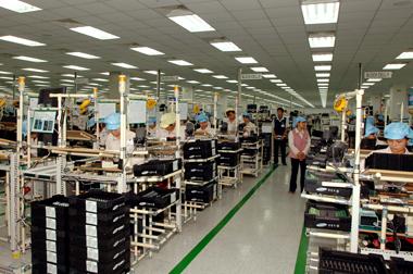 Thi công hệ thống âm thanh kho xưởng - nhà máy 2