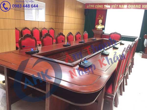 Báo giá thiết bị âm thanh phòng họp tại Hà Nội công khai, minh bạch