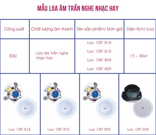 Loa âm trần nghe nhạc chính hãng, giá rẻ tại Hà Nội - Hồ Chí Minh