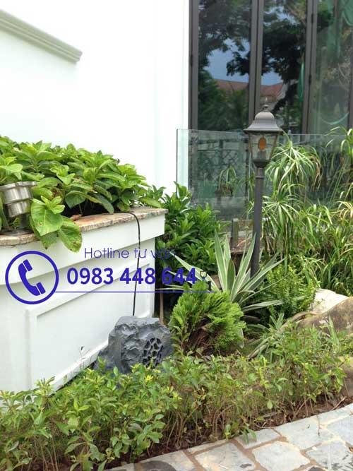 Thiết kế và thi công âm thanh cho sân vườn, biệt thự