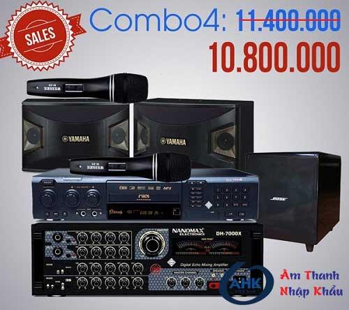 Trọn bộ dàn karaoke gia đình giá chỉ từ 10 triệu