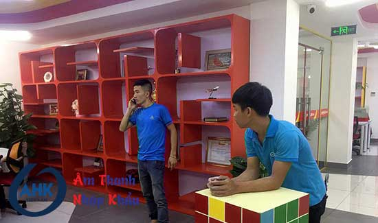 Dự án lắp đặt âm thanh văn phòng cao cấp tại VietJet Air - Kim Mã