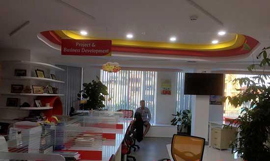 Dự án lắp đặt âm thanh văn phòng cao cấp tại VietJet Air - Kim Mã 1