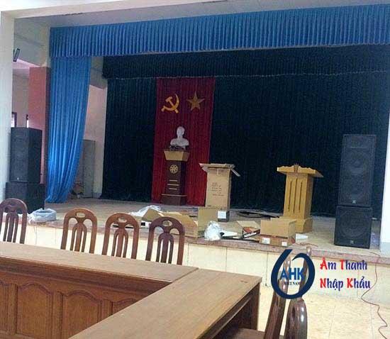 Dự án lắp âm thanh phòng họp, sân khấu tại Sở Công Thương Nghệ An