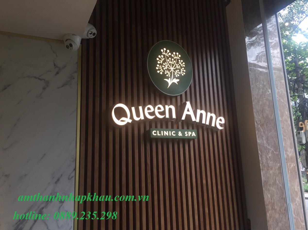 Dự án lắp đặt âm thanh nghe nhạc cho Spa Queen Anne 75- Trúc Bạch 1
