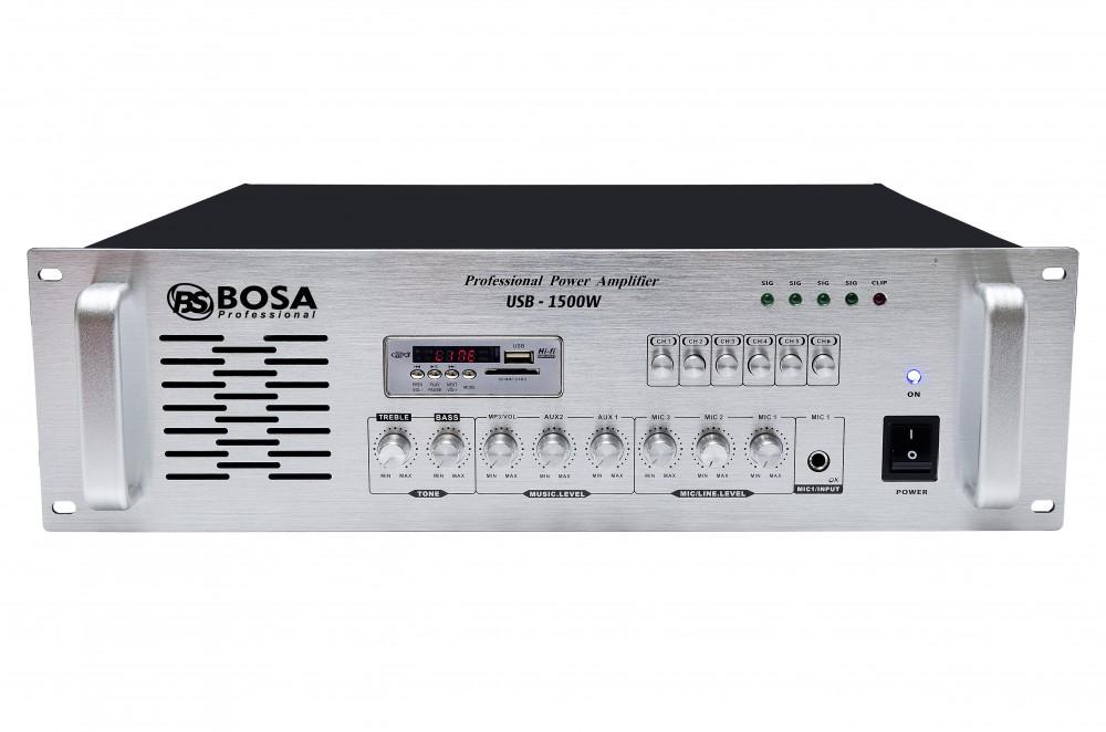 Amply thông báo Bosa USB-1500W