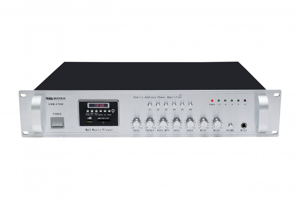 Amply phân tần Bosa USB-270W chính hãng tai Hà Nội.