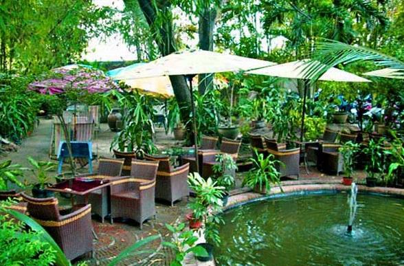 Tư vấn chọn loa cho quán cafe ngoài trời, cafe sân vườn.