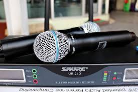 Micro không dây Shure UR-24D chuyên nghiệp
