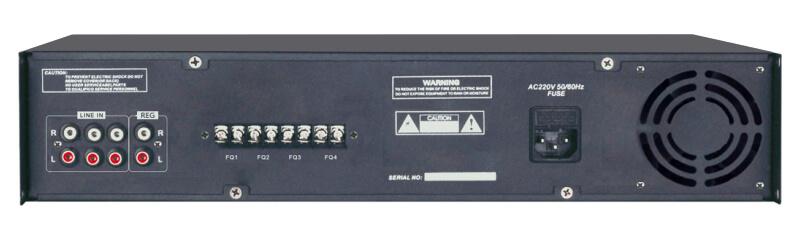 Amply Aplus AP-4A360 lựa chọn 4 vùng âm thanh 2