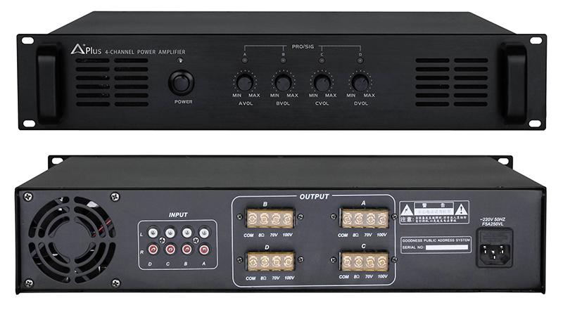 Amply công suất 4 kênh APlus AP-4C240 hàng cao cấp 2