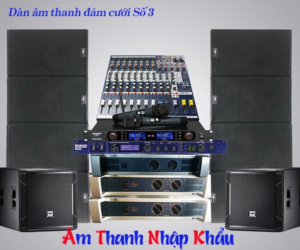 Dịch vụ setup, cung cấp loa đài đám cưới tại Hà Nội 3