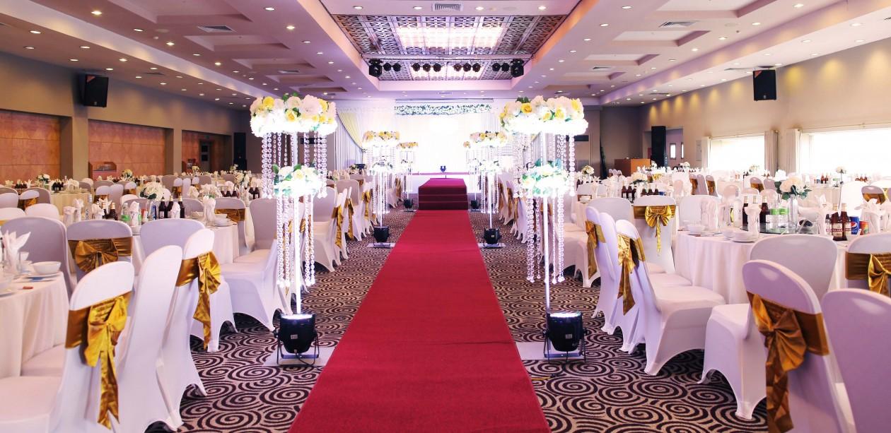 Thiết kế hệ thống âm thanh sân khấu tiệc cưới. 4
