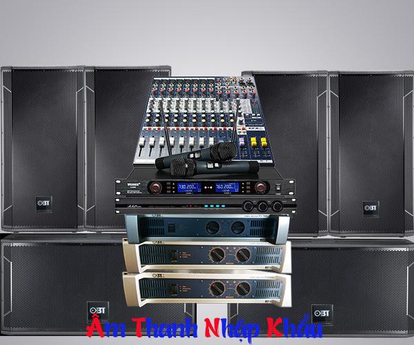 Thiết kế hệ thống âm thanh sân khấu tiệc cưới. 3